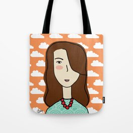 Marie the Swiss Miss Tote Bag