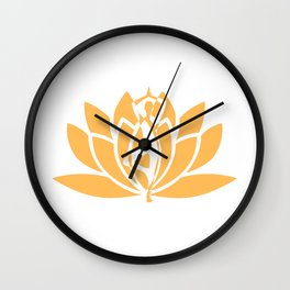 Mantra Wall Clock