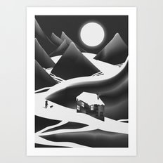 Coming Home Art Print