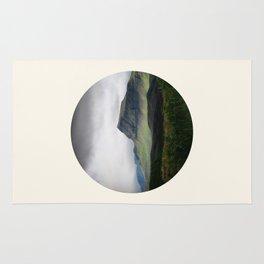 Cloudy Cliff Rug