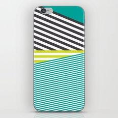Neon Lines iPhone Skin
