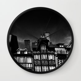 Crooked Rennes Wall Clock