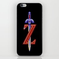 sword iPhone & iPod Skins featuring Skyward Sword by mirodeniro
