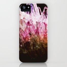 Rainbow quartz iPhone Case