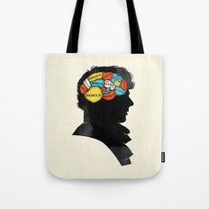 Sherlock Phrenology Tote Bag
