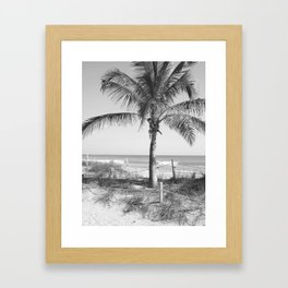 """The Beach In the Palm of Your Hand"" Framed Art Print"