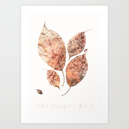 The whole in every part Art Print