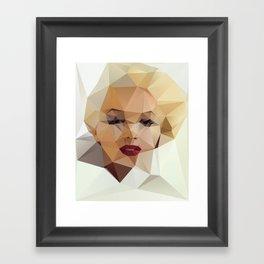 Monroe. Framed Art Print