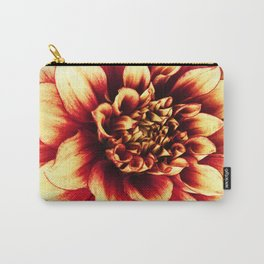 La Dahlia Red Carry-All Pouch