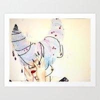 Queen of Dreams Art Print