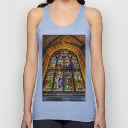 Stained Glass Window Unisex Tank Top