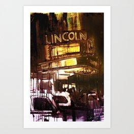 The Lincoln Art Print