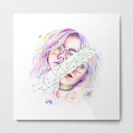 Kristína Metal Print