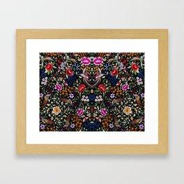 Manton, Spanish flamenco shawl detail Framed Art Print