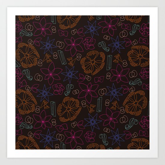 pattern 7 Art Print