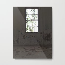 Forgotten Window Metal Print