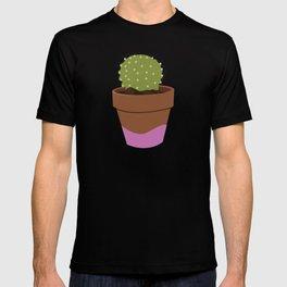PINK POT CACTUS T-shirt