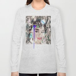 Audrey Type Abstract Art Long Sleeve T-shirt