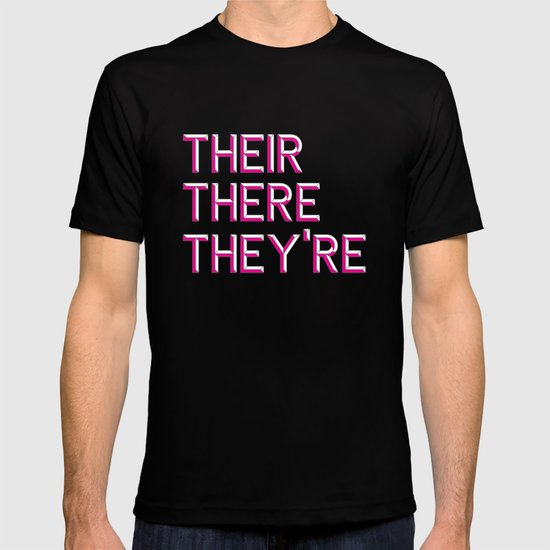 Their, There, They're T-shirt