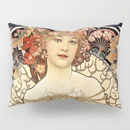 Art Nouveau Pillow Sham