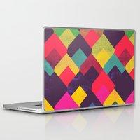 georgiana paraschiv Laptop & iPad Skins featuring colour + pattern 11 by Georgiana Paraschiv