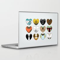 ewok Laptop & iPad Skins featuring Character Hearts by Hugh & West