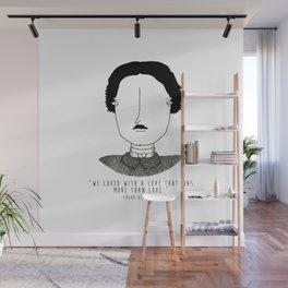 Literary Love: Edgar Allan Poe Wall Mural