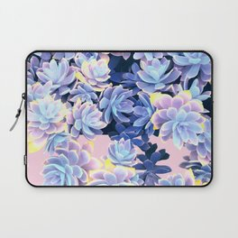 Cactus Fall - Blue and Pink Laptop Sleeve