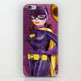 Batgirl '66 iPhone Skin