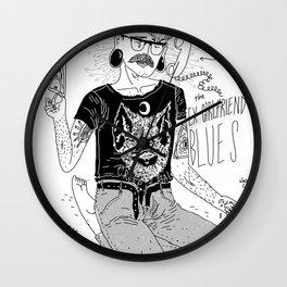the ex-girfriend blues Wall Clock
