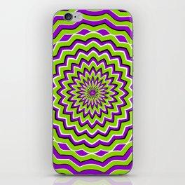 Optical Illusion moving pattern iPhone Skin