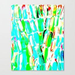 Bright Sugarcane Canvas Print
