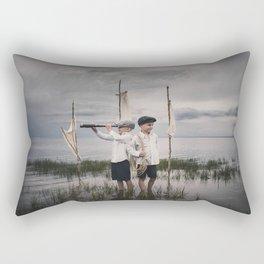 Aventure imaginaire Rectangular Pillow