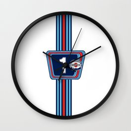 Martini Classic Racing Wall Clock
