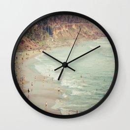 Varkala Cliffs Wall Clock