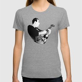 LES PAUL House of Sound - WHITE GUITAR T-shirt