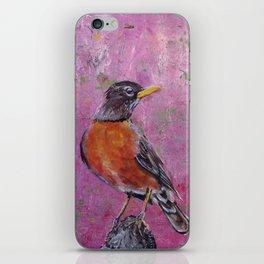 American Robin #5 iPhone Skin