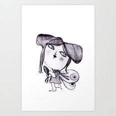 butter fly Art Print