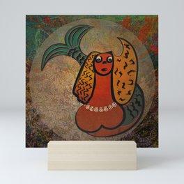 Mythical Mermaid / Icon Mini Art Print