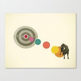 Bull's Eye : Taurus Canvas Print