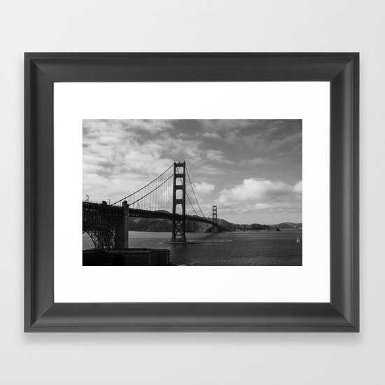 means to an end Framed Art Print