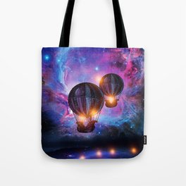 Space trip. Tote Bag
