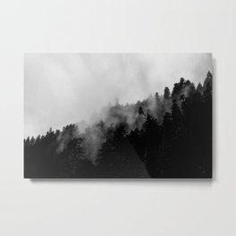 Eagle Creek Fog Metal Print