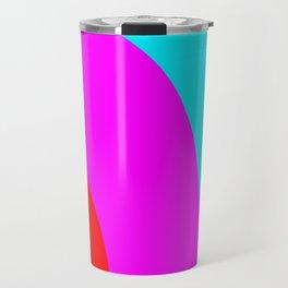 Happy Peaceful Rainbow Travel Mug