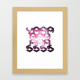 GALACTIC YAAASSSS Framed Art Print