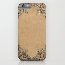 Old Knotwork Paper iPhone Case