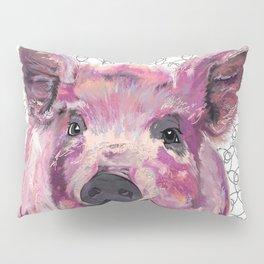 Precious Pig Pillow Sham