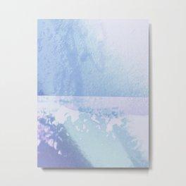 Dandelion collage (faded) Metal Print