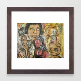 under the voodoo Framed Art Print