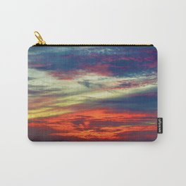 October Lake St.Clair Sunset Carry-All Pouch
